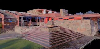 Frank Lloyd Wright, Taliesin West in 3D