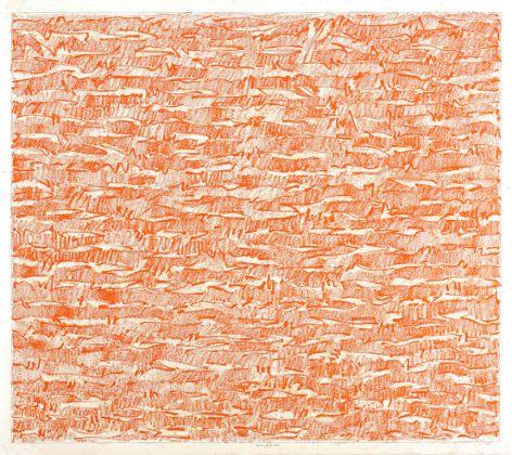 Claudio Verna, Discorso sul segno: Enigma, 2018, 140 x 140 cm Photo credits: Giorgio Benni Courtesy: L'artista e MONITOR, Rome, Lisbon