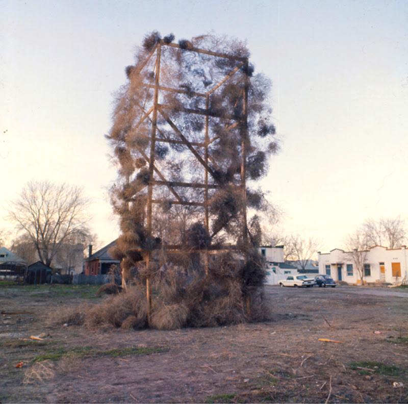 Gianni Pettena, Tumbleweeds Catcher, Salt Lake City 1972