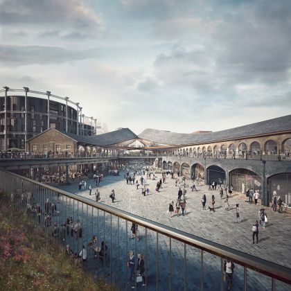 Heatherwick Studio, Coal Drops Yard. Credit Forbes Massie