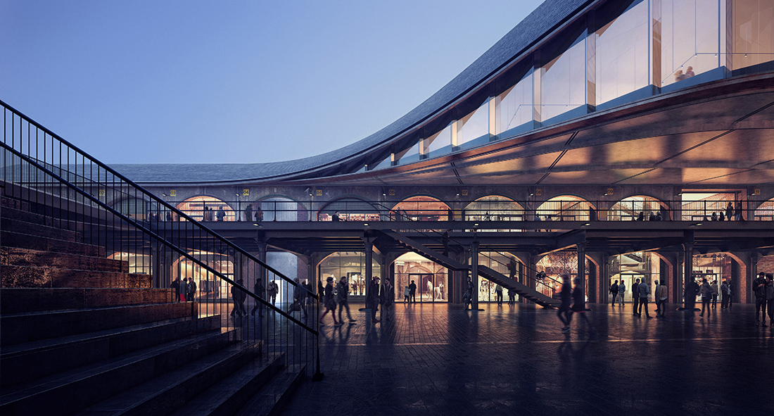 Heatherwick Studio, Coal Drops Yard. Credit Mir