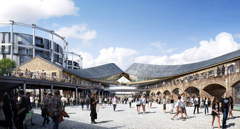 Heatherwick Studio, Coal Drops Yard. Courtesy Heatherwick Studio