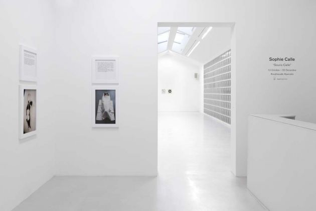"Sophie Calle, View of the exhibition ""Souris Calle"" at Perrotin Paris 13 octobre – 22 décembre 2018"