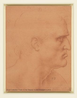 Leonardo da Vinci (1452 – 1519) Studio per san Bartolomeo (?), ca. 1495