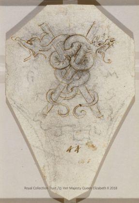 Leonardo da Vinci (1452 – 1519) Emblema di Galeazzo Maria Sforza, ca. 1495