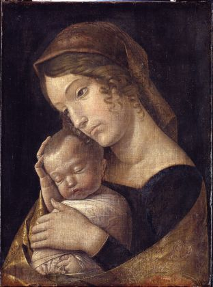 Andrea Mantegna, La Vergine e il Bambino, 1455-60 ca. Gemäldegalerie, Staatliche Museen zu Berlin © Staatliche Museen zu Berlin, Gemäldegalerie. Photo Jörg P. Anders