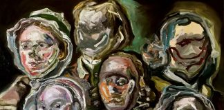 Adriano Annino, Termoclino Hogarth (Heads of Six Hogarth's Servants), 2018