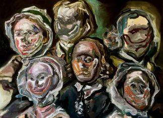 Adriano Annino, Termoclino Hogarth (Heads of Six Hogarth's Servants), 2018