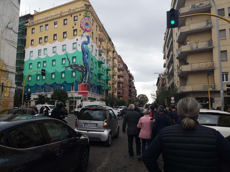 I Piu Bei Murales.A Roma Il Piu Grande Murale Ecologico Artribune