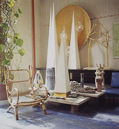 All'ingresso dello studio di Ponti © Gio Ponti Archives