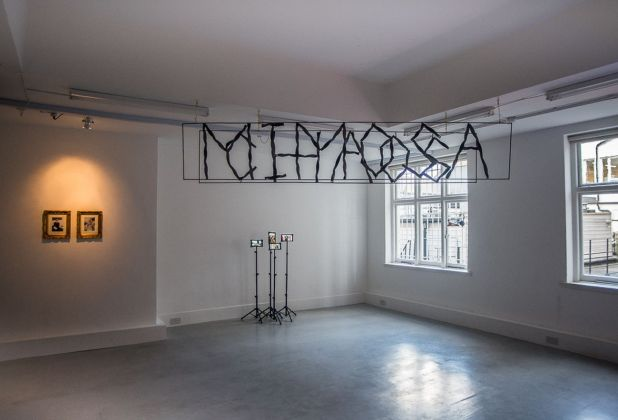 Alter Heroes Coalition. Exhibition view at Mimosa House, Londra 2018
