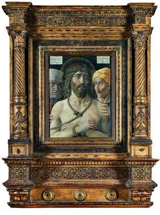 Andrea Mantegna, Ecce Homo, 1500 ca. Paris, Musée Jacquemart André – Institut de France © Studio Sébert Photographes