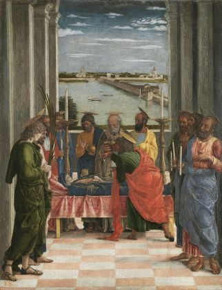 Andrea Mantegna, Morte della Vergine, 1460-64. Museo Nacional del Prado, Madrid © Photographic Archive Museo Nacional del Prado