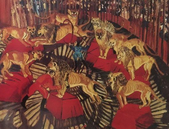 Antonio Ligabue, Circo, 1941-42. Collezione privata