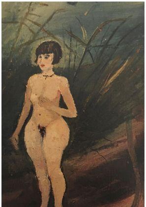 Antonio Ligabue, Nudo di donna, 1929-30. Collezione privata