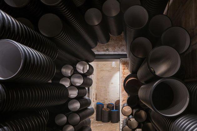 Biennale di Venezia di Architettura, 2018. Padiglione Lituania. The Swamp Pavilion. Sonic Void, Norbert Tukaj