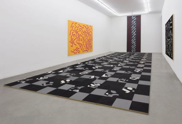 Carla Accardi. Installation view at Galleria Francesca Minini, Milano 2018. Courtesy Archivio Accardi Sanfilippo & Galleria Francesca Minini. Photo credit Andrea Rossetti