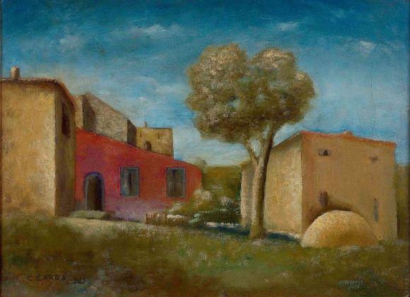 Carlo Carrà, Il leccio, 1926. Museo del Novecento, Milano