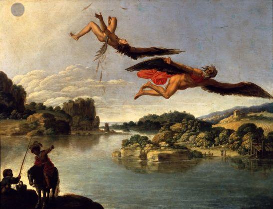 Carlo Saraceni, Caduta di Icaro, Napoli, Museo Nazionale di Capodimonte