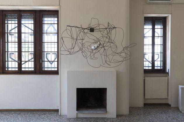 Casa Testori, Novate Milanese. Mimmo Paladino, Arte Contro la corruzione, 2017