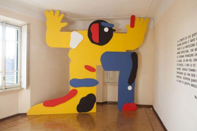 Casa Testori, Novate Milanese. Sarah Mazzetti, Tictig, Tutti i colori tranne il grigio, 2015