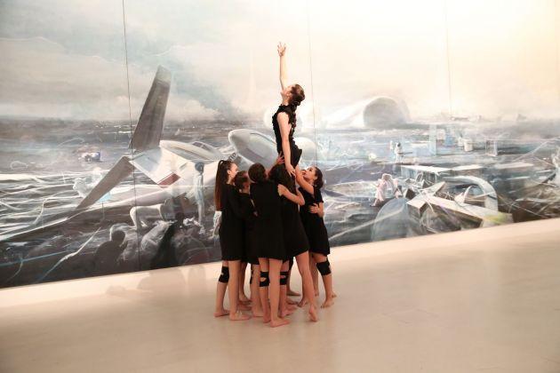 Centre Pompidou, Malaga. Performance