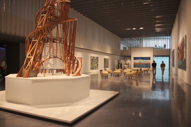 Centre Pompidou, Malaga. Sale espositive