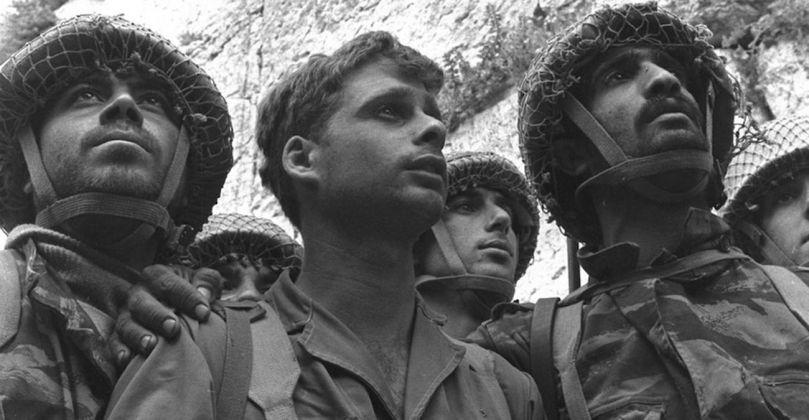 David Rubinger, Soldati israeliani davanti al Kotel, 7 giugno 1967. Photo credits Edvige della Valle