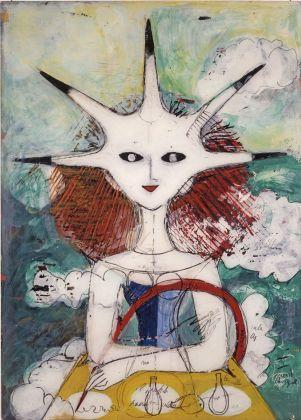 Dipinto su perspex La diavolessa, 1979 © Gio Ponti Archives