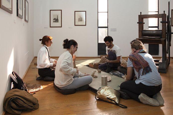 Diventa Morandi. Museo Morandi, Bologna 2018. Pina Siotto, L'essenza dell'avvolgere. Photo Francesca Cesari