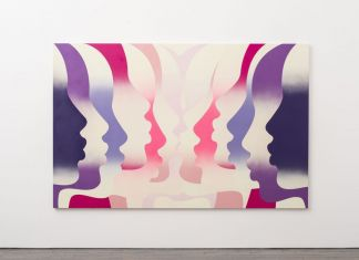 Eddie Peake, A Group Of Lovers, 2018. Galleria Lorcan O'Neill, Roma