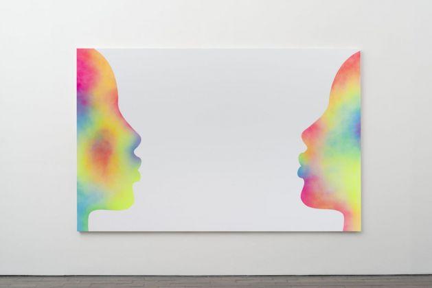 Eddie Peake, Talking About The Future, 2018. Galleria Lorcan O'Neill, Roma