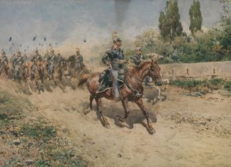 Enrico Coleman, Cavalleria