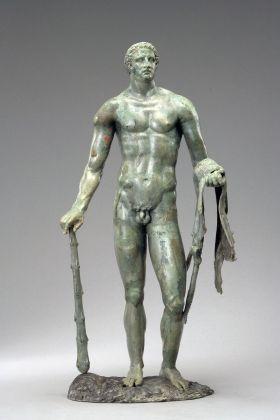 Eracle stante con i pomi delle Esperidi, 100 a.C. ca. Antikenmuseum Basel und Sammlung Ludwig