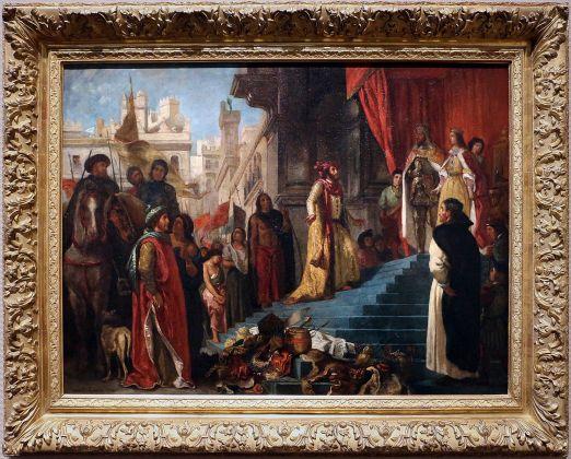 Eugène Delacroix, Il ritorno di Cristoforo Colombo, 1839
