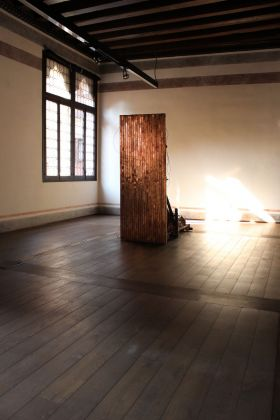 Fabio Roncato, The electric being, 2015. Installation view at TRA – TrevisoRicercaArte, Treviso 2015
