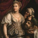 Fede Galizia, Giuditta con la testa di Oloferne, 1596. Galleria Borghese, Roma