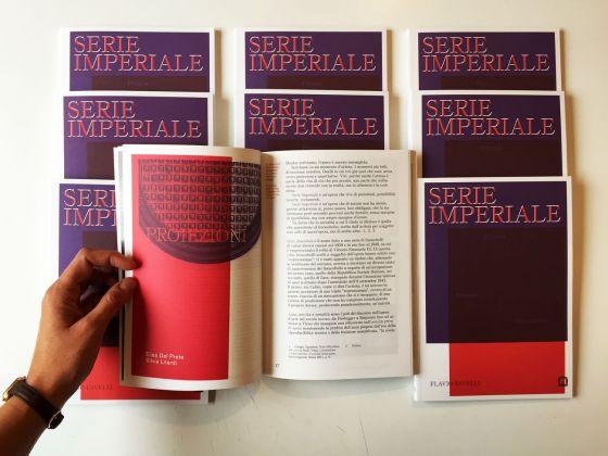 Flavio Favelli, Serie Imperiale. Il catalogo edito da Corraini