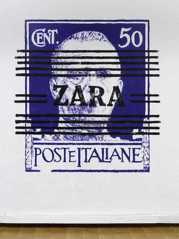Flavio Favelli, Zara, 2018