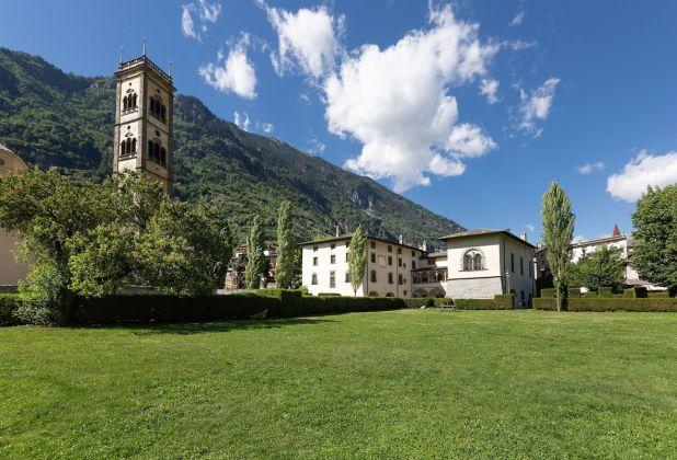 Grosio, Villa Visconti Venosta