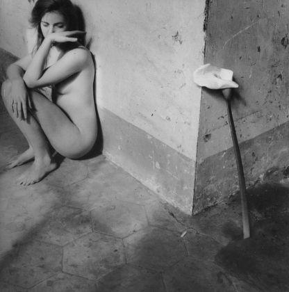 Francesca Woodman, Self Portrait, Easter, Rome, 1978