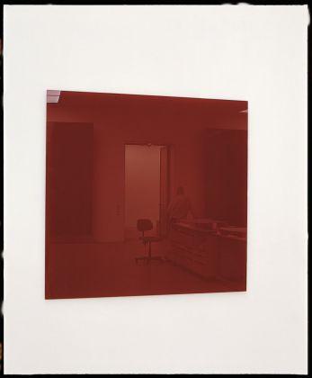 Gerhard Richter, Spiegel, blutrot, 1991. Collezione privata © Gerhard Richter 2018