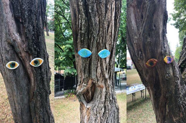 Giacomo Gerboni, Il giorno in cui gli alberi iniziarono a guardarci. Photo Francesca Granata