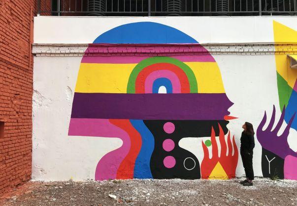 Gio Pistone, Oudeis (particolare), 2018. San Pietroburgo