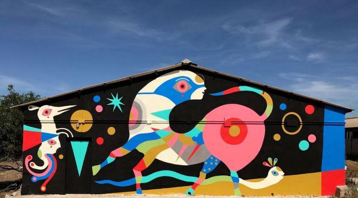 Gio Pistone, Universo, 2016. Ussana, Campi d'Arte