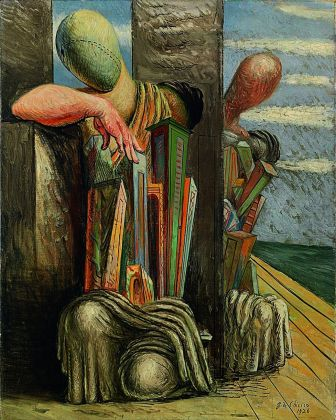 Giorgio de Chirico, Le trouble du philosophe, 1925-26. Museo del Novecento, Milano