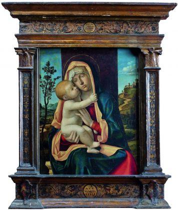 Giovanni Battista Cima da Conegliano, Madonna col Bambino, 1490-92. Paris, Musée Jacquemart André – Institut de France © Studio Sébert Photographes