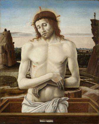 Giovanni Bellini, Pietà, 1457 ca. Museo Poldi Pezzoli, Milano © Museo Poldi Pezzoli, Milano