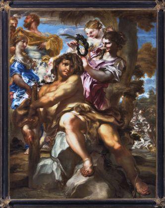Gregorio de Ferrari, Ercole accolto nell'Olimpo, fine XVII sec. Genova, Galleria Nazionale della Liguria a Palazzo Spinola
