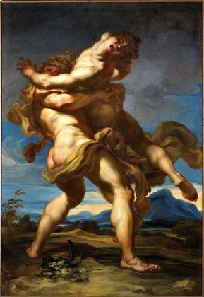 Gregorio de Ferrari, Ercole e Anteo, fine XVII sec. Genova, Galleria Nazionale della Liguria a Palazzo Spinola